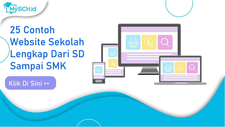 25 Contoh Website Sekolah Lengkap Dari SD Sampai SMK